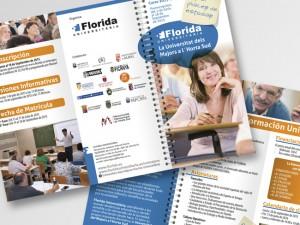 Diseño gráfico para masters y cursos de Florida Universitària